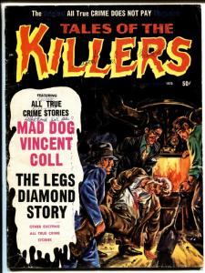 Tales Of The Killers #10 1970-1st issue-Legs Diamond-Mad Dog Coll-Frazetta