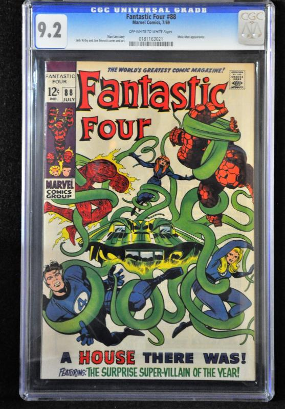 Fantastic Four #88 (Marvel, 1969) CGC 9.2