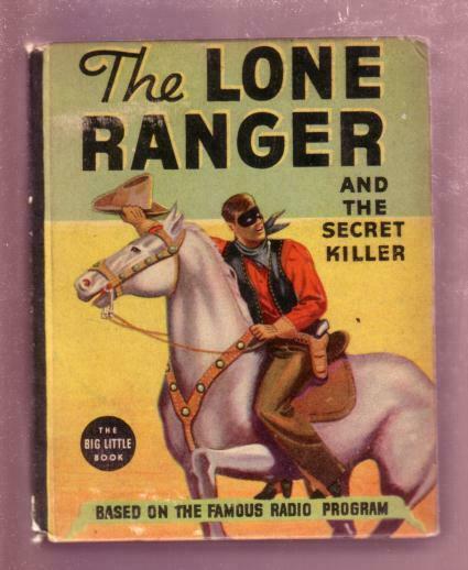 THE LONE RANGER AND THE SECRET KILLER 1937 #1431--BLB FN/VF