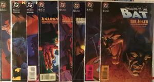 BATMAN:SHADOW OF THE BAT (DC)3 COMPLETE PLUS 2 STAND ALONE STORYLINES!8 BOOK LOT