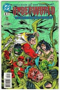 Underworld Unleashed #3 Flash | Green Lantern | Wonder Woman (DC, 1995) FN/VF