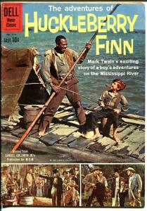 Adventures of Hucklebberry Finn-Four Color Comics #1114-1960-Dell-Hodges-VG