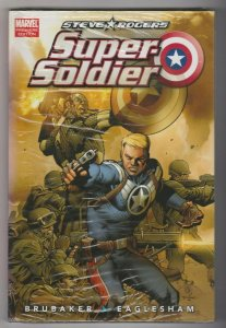 STEVE ROGERS - SUPER SOLDIER by Ed Brubaker MARVEL COMICS SEALED HARDCOVER