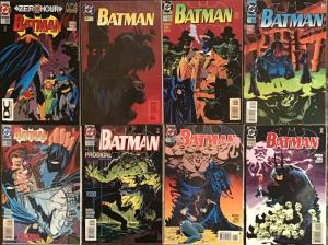 BATMAN DC #511-513,516-520 ALL NM 8 BOOK LOT!
