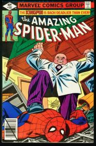 AMAZING SPIDER-MAN #197-1979-KINGPIN-MARVEL-very fine VF