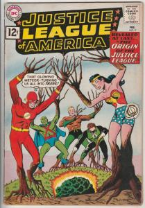 Justice League of America #9 (Feb-61) FN/VF+ Mid-High-Grade Justice League of...
