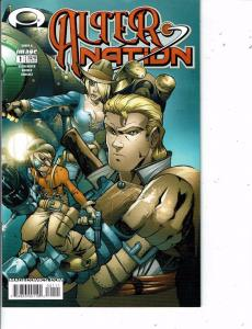 Lot Of 2 Comic Books Image Alter Nation #1 and Dark Horse American #2 MS12