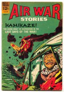 Air War Stories #6-1966-Dell- Glanzman-Kamikaze-VG+
