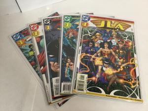 Justice Leagues 2-6 Lot Set Run Nm Near Mint Dc Comics A45