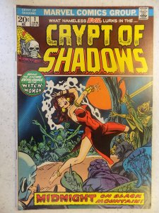 CRYPT OF SHADOWS # 1 MARVEL BRONZE HORROR