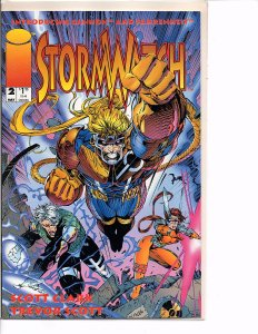 Image Comics (Vol. 1) Stormwatch #2 Jim Lee