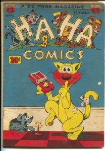Ha Ha #70 1950-ACG-mousetrap gag cover-Ken Hultgren story art-VG+
