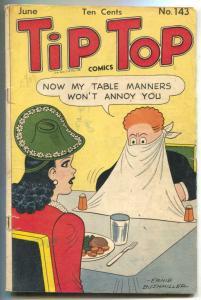 Tip Top Comics #143 1948 - Fritzi Ritz cover VG