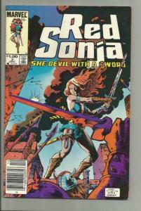RED SONJA #3, VF+, She-Devil, Sword, Mary Wilshire,1983, more RS in store