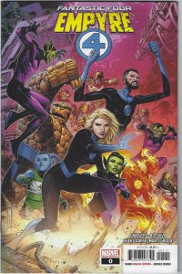 Fantastic Four: Empire #0