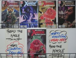 WOLVERINE AND THE X-MEN: ALPHA & OMEGA (Marvel, 2012) #1a-5 COMPLETE!VF-NM