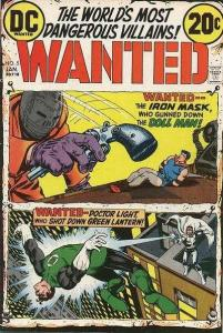 Wanted: The World's Most Dangerous Villains #5, VF- (Stock photo)