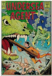 UNDERSEA AGENT 6 VG+ Mar. 1967 COMICS BOOK