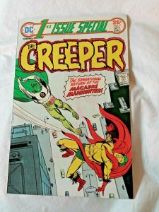 THE CREEPER 1ST. ISSUE SPECIAL #7 RETURN OF MANHUNTER DC COMICS  1975 FN+