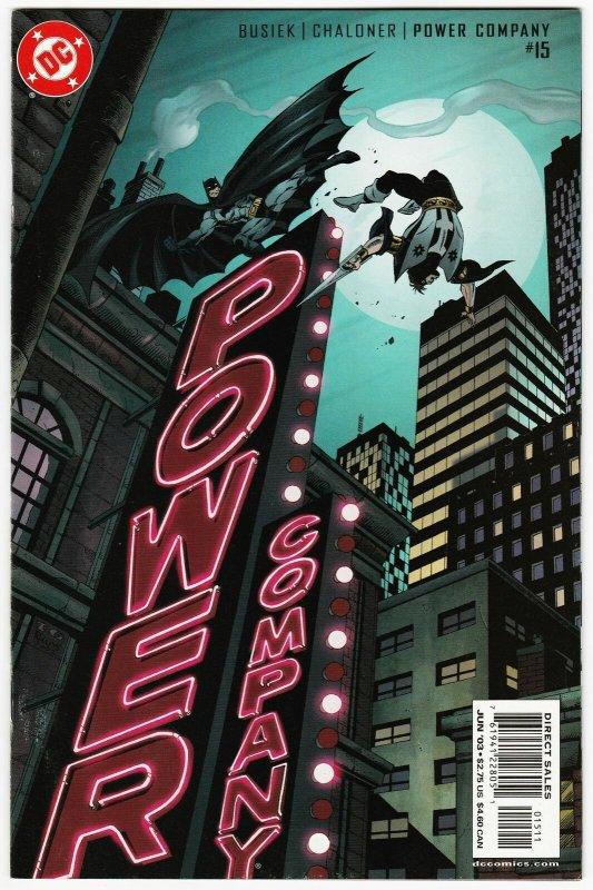 Power Company #15 Batman (DC, 2003) VF/NM
