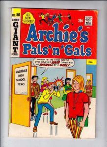 Archie's Pals 'n' Gals #50 (Feb-69) FN/VF Mid-High-Grade Archie, Betty, Veron...