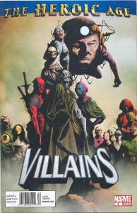 Heroic Age: Villains #1 (Newsstand) FN; Marvel | save on shipping - details insi
