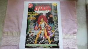 1985 DC COMICS THE NEW TEEN TITANS # 17