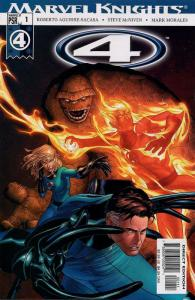 4 (2004) 1-30 Marvel Knights Fantastic Four  COMPLETE!
