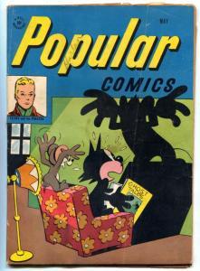 Popular Comics #135 1947- Felix the Cat- Golden Age VG-