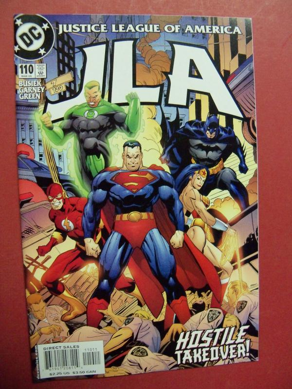 JUSTICE LEAGUE OF AMERICA  #110 VF/NM OR BETTER DC COMICS