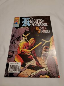 Knights of Pendragon 4 Near Mint- Cover by Alan Davis