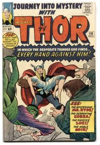JOURNEY INTO MYSTERY #110 1964 THOR-MARVEL-COBRA-ODIN FN/VF