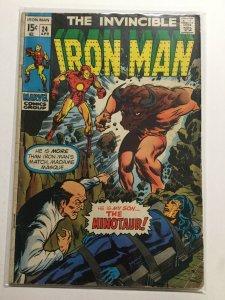 Iron Man 24 Good/ Very Good 3.0 Marvel