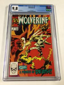 Wolverine 9 Cgc 9.8 White Pages 1988 Series