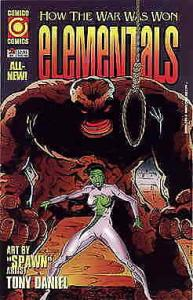 Elementals: How the War Was Won #2 VF/NM; COMICO   save on shipping - details in