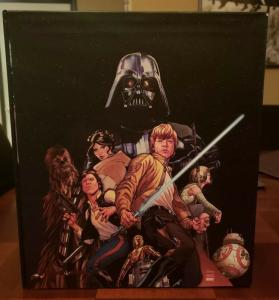 STAR WARS 12-BOOK BOX SET SLIPCASE (2017, Hardcover) - BRAND NEW!