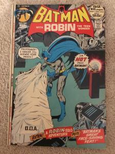 DC Batman 240 With Robin The Teen Wonder