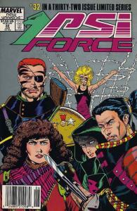 Psi-Force #32 (Newsstand) FN; Marvel   save on shipping - details inside