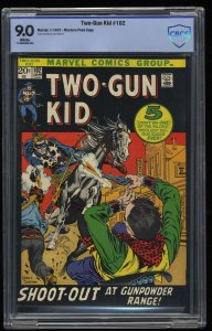 Two-Gun Kid #102 CBCS VF/NM 9.0 White Pages Western Penn Scarce in High Grade!