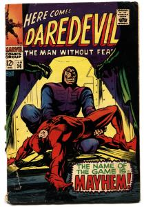 DAREDEVIL #36 comic book 1968-MARVEL COMICS-GENE COLAN