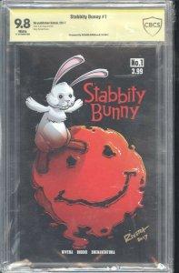 Stabbity Bunny #1 Kickstarter CBCS 9.8 Signed by Rivera