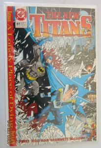 New Teen Titans #61 2nd Series A Lonely Place Of Dying 8.0 VF (1989)