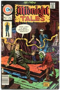 MIDNIGHT TALES #16, FN+, Time Out, Horror, 1972 1976, more Charlton in store