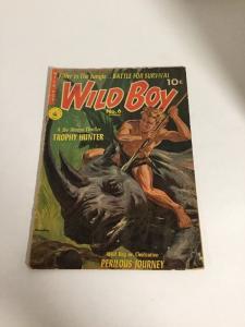 Wild Boy 1952 No 6 Vg Very Good 4.0