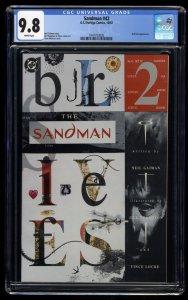 Sandman (1989) #42 CGC NM/M 9.8 White Pages