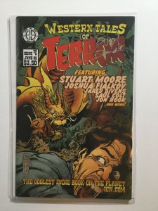 Western Tales Of Terror 4 Near Mint Nm Signed Hoarse And Buggy Productions
