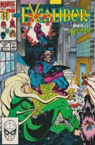 EXCALIBUR #27 - 1990 MEETS THE Nth MAN  -   MARVEL - BAGGED & BOARDED
