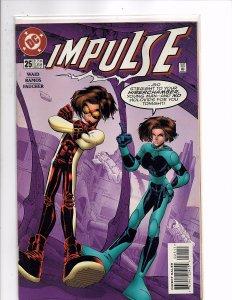 DC Comics Impulse (2000) #25 Mark Waid Story Humberto Ramos Cover & Art