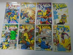 Uncanny X-Men comic lot 31 different from #300-349 8.0 VF (1993-97 1st Series)