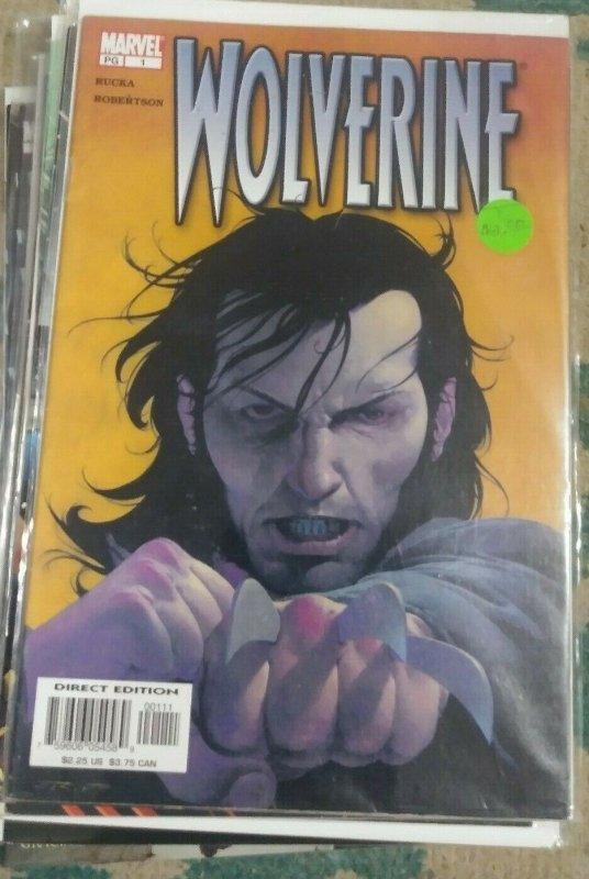 WOLVERINE # 1   2003 Marvel  VOL 3 x men logan MUTANT